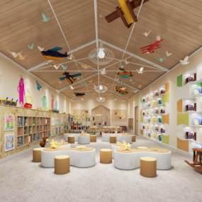 現代幼兒園3D模型【ID:949087612】