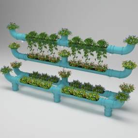 現代水管栽培3D模型【ID:251121885】
