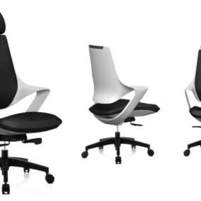 办公椅 3D模型【ID:741460435】