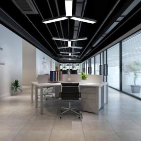 办公室3D模型【ID:942486084】