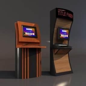 现代自助服务机器3D模型【ID:438881048】