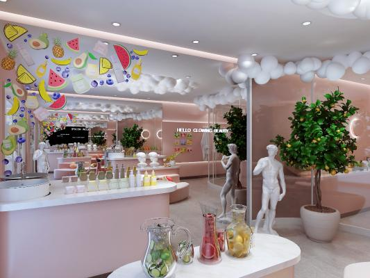 现代化妆品体验店