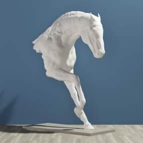 现代装饰品3D模型【ID:332931026】