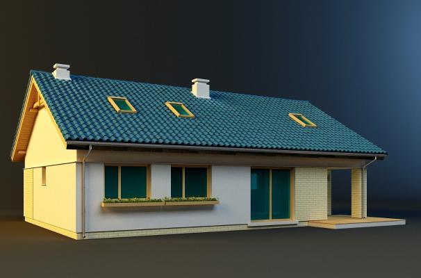平房3D模型【ID:141759784】