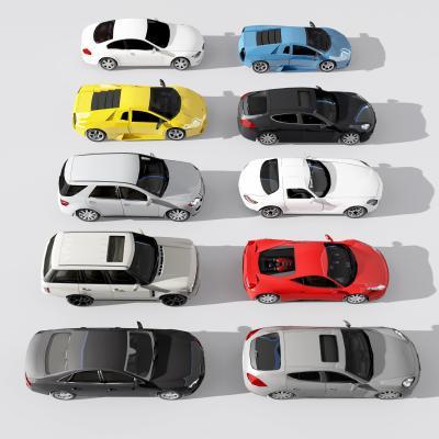 现代车3D模型【ID:443629766】