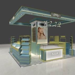 现代新形象专柜3D模型【ID:143398242】
