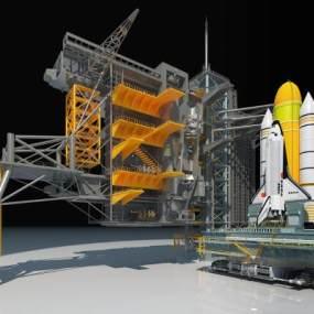 航天基地3D模型【ID:441624974】