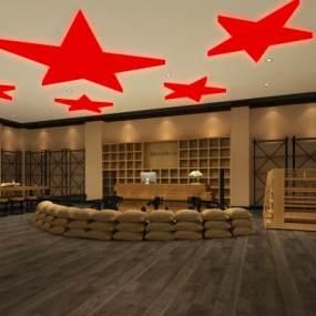红军展厅3D模型【ID:932871899】