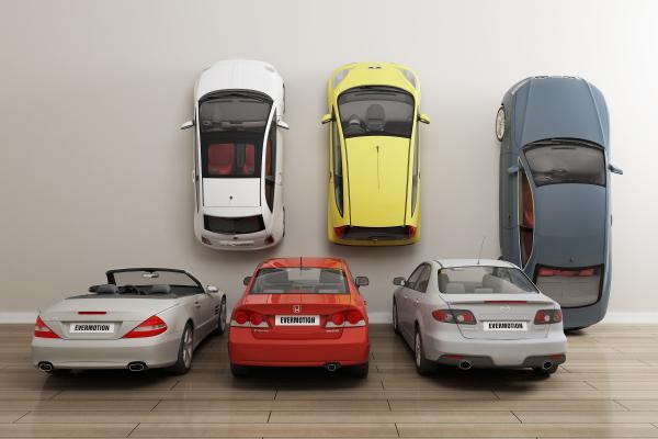 現代私家車3D模型【ID:442261783】