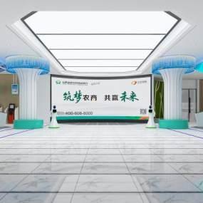 银行大厅3D模型【ID:947018292】
