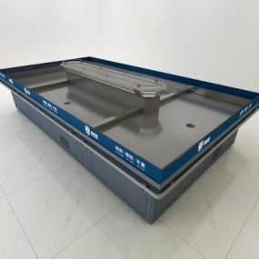 现代超市水产冰台3D模型【ID:335783364】