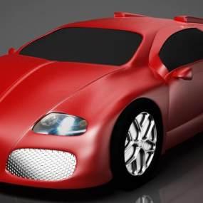 布加迪威龙跑车3D模型【ID:432195702】
