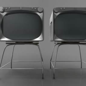 现代风格电视机3D模型【ID:243483654】