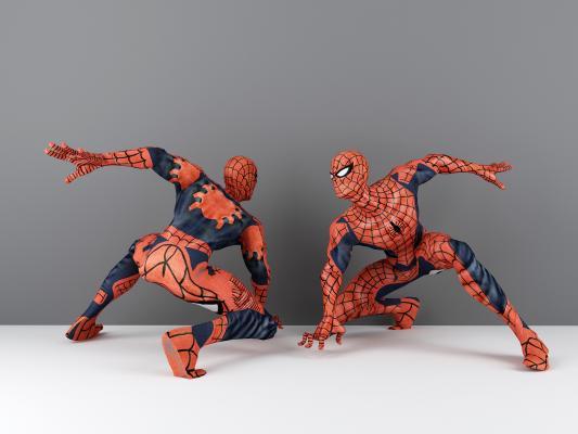 現代蜘蛛俠3D模型【ID:346717042】