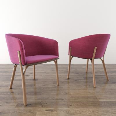 餐椅3D模型【ID:740808134】