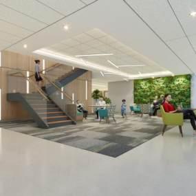 现代医院3D模型【ID:144214236】
