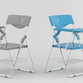 现代培训椅3D模型【ID:732776461】