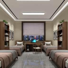 宿舍3D模型【ID:936093922】