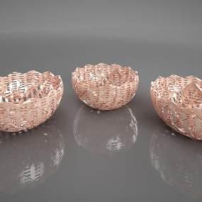 新中式金属摆件3D模型【ID:234669544】