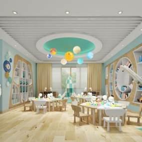 現代幼兒園3D模型【ID:948973653】