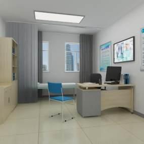 現代門診辦公室3D模型【ID:946943786】