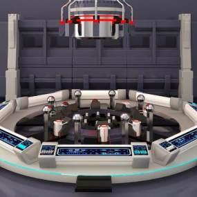 船舱3D模型【ID:441651912】