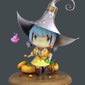 现代玩偶3D模型【ID:332837479】