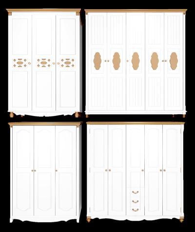 地中海衣柜组合3D模型【ID:130425414】