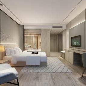 现代酒店客房3D快三追号倍投计划表【ID:734119348】