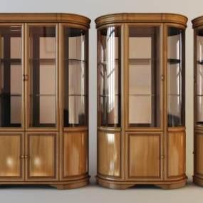 古典酒柜3D模型【ID:647054240】