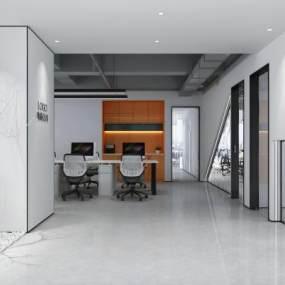 现代办公室3D模型【ID:953039070】