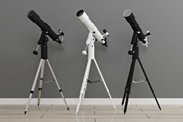 現代天文觀星望遠鏡3D模型【ID:444101003】
