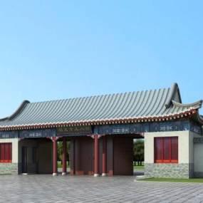 新中式古建寺庙365彩票【ID:235416195】