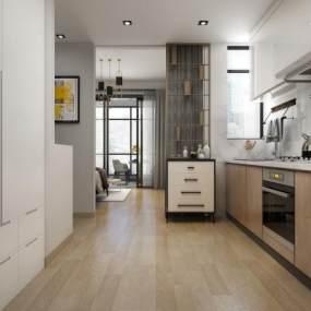 北欧公寓3D模型【ID:543539338】