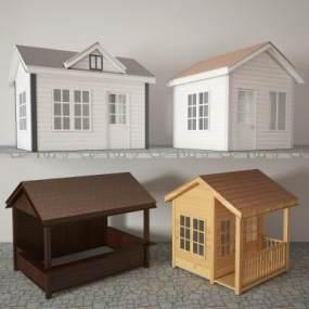 移动板房3D模型【ID:136160352】