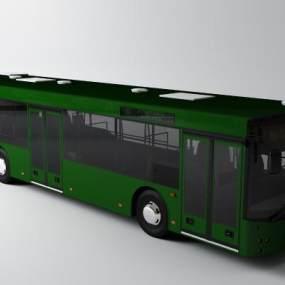 现代公交车3D模型【ID:435625786】