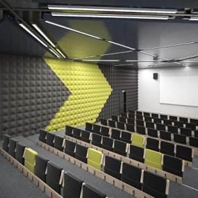 现代会议室3D模型【ID:951040192】