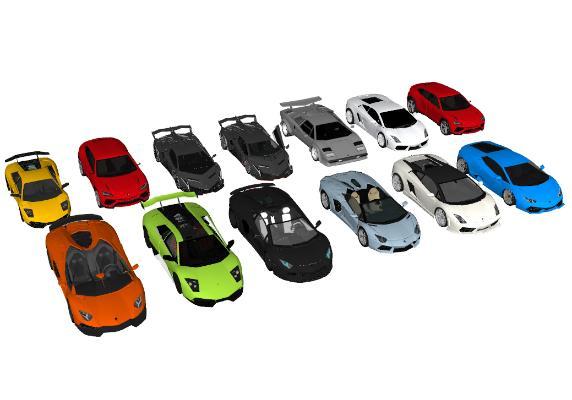 現代汽車SU模型【ID:452119988】