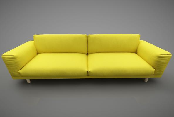 现代风格沙发3D模型【ID:648853666】