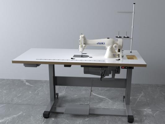 现代缝纫机3D模型【ID:433699405】