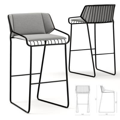 吧�_椅3D模型【ID:740971269】