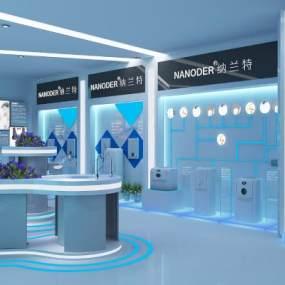 現代中霖中科凈水器科技展廳3D模型【ID:946918775】