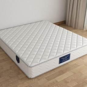 新中式床垫3D模型【ID:935237080】