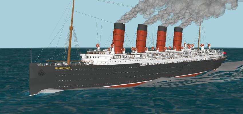船SU模型【ID:644023219】