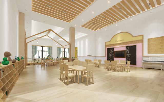 北欧风幼儿园教室