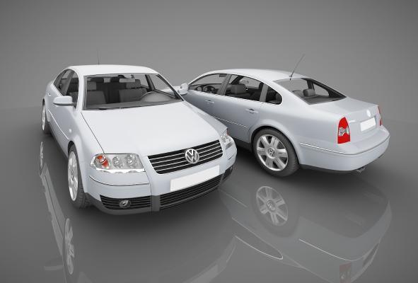 现代风格小汽车3D模型【ID:441842762】
