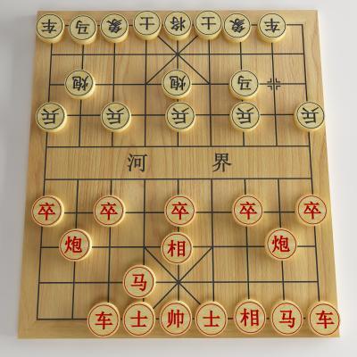 现代中国象棋3D模型【ID:452419462】