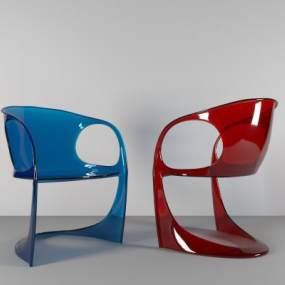 现代休闲椅子3D模型【ID:732766094】
