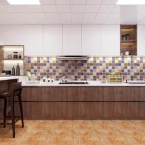 廚房3D模型【ID:543850335】