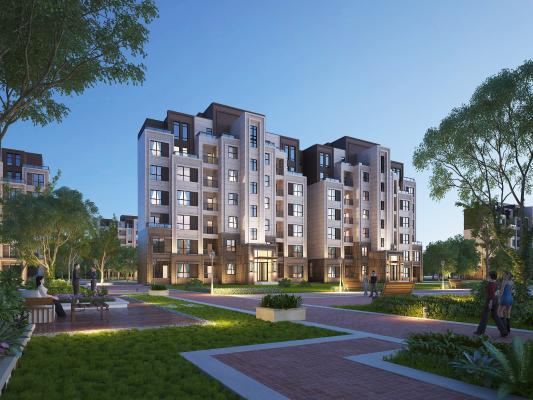 新古典住宅3D模型【ID:147422728】